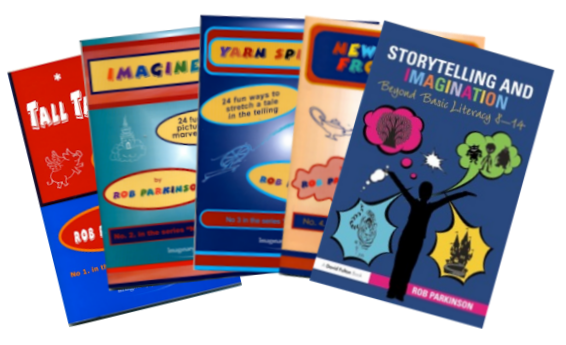 Storytelling & Imagination and all four Natural Storytellers booklets